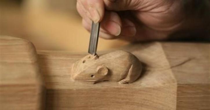 He made his first wooden toy vehicle when he was struggling with miseries in life