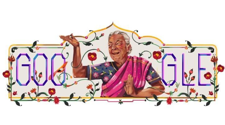 Zohra Sehgal / Google Doodle