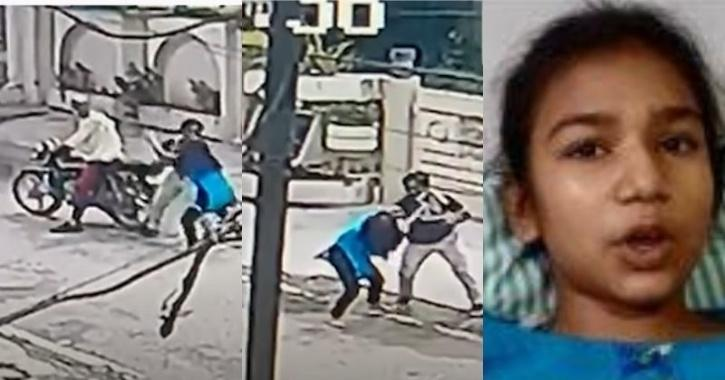 Girl fights off snatchers