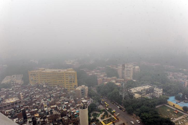 Delhi air pollution may spike