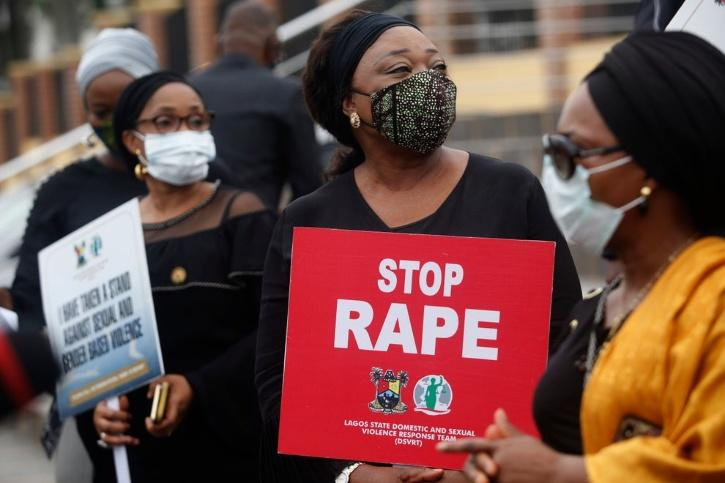Protests against rape in country