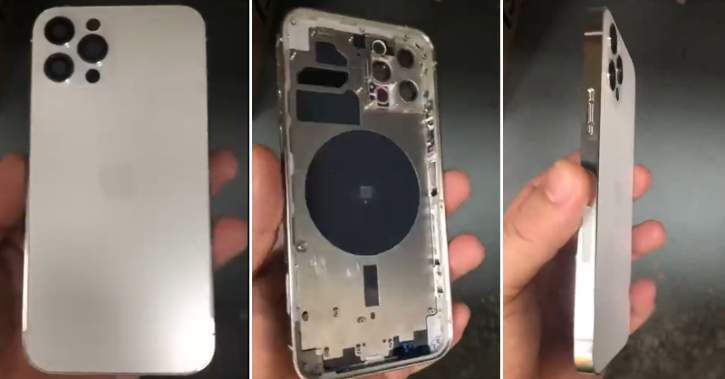 iphone 12 pro chassis leak