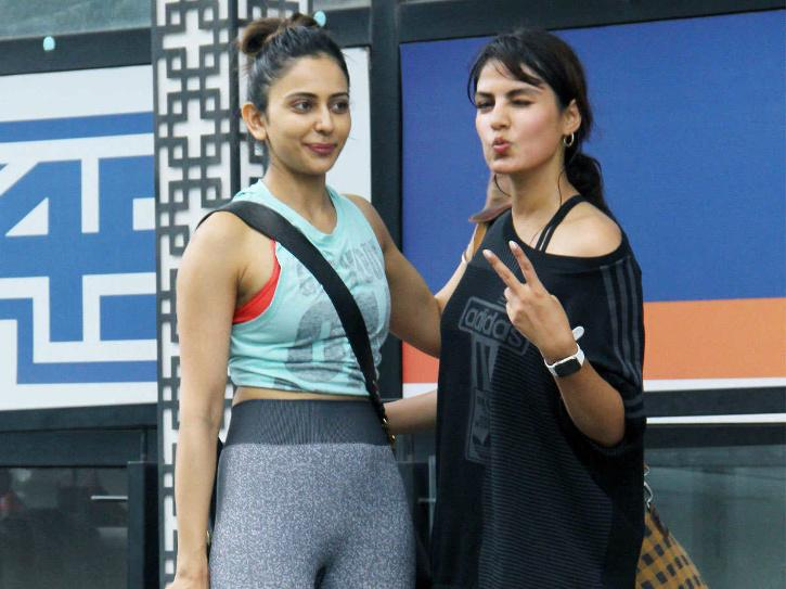 Rakul Preet Singh and Rhea Chakraborty / Agencies