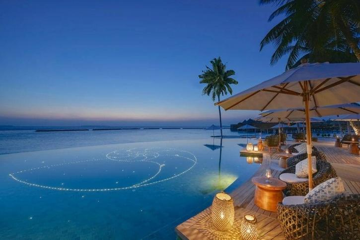 This resort is offering luxury