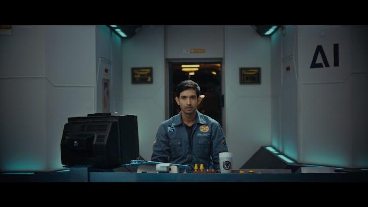 Vikrant Massey in Cargo / Netflix India