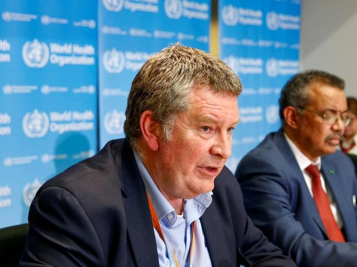 Mike Ryan, Executive Director of @WHO