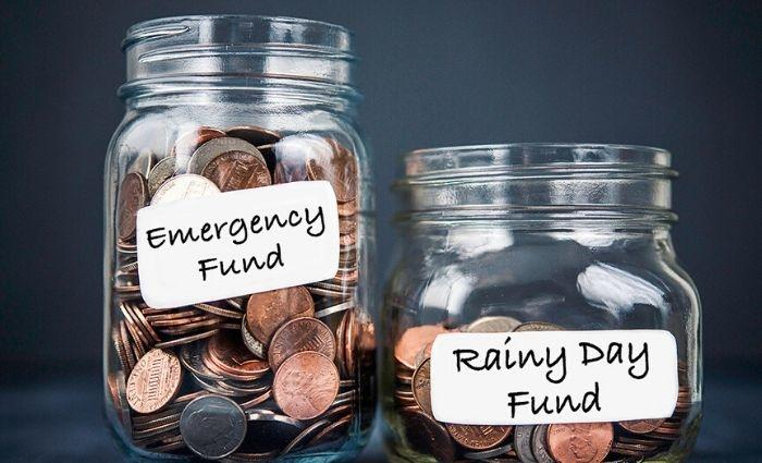 Rainy day funds during a pandemic