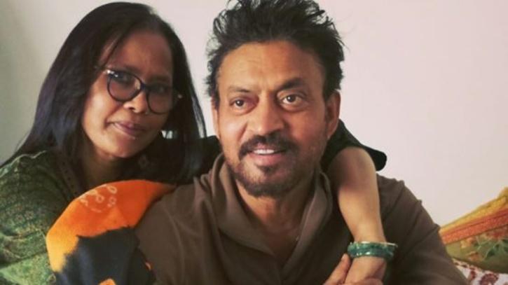 Irrfan with his wife Sutapa Sikdar / Instagram