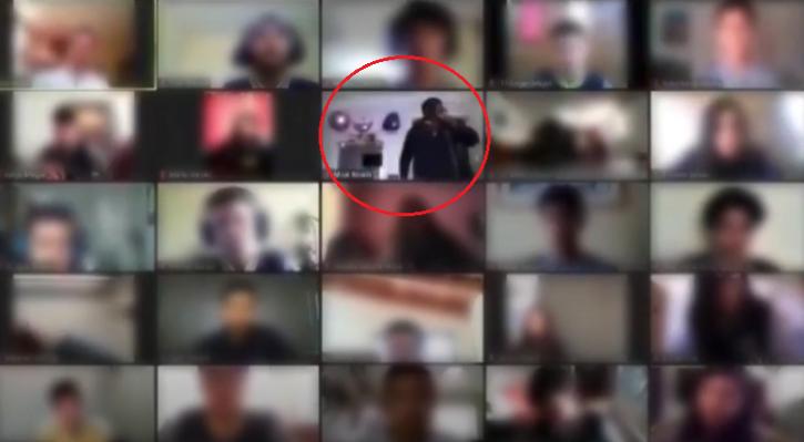 Robbery on camera