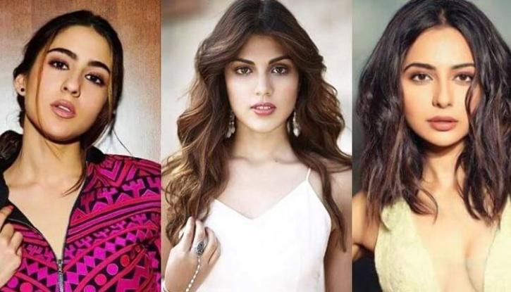 Sara Ali Khan, Rhea Chakraborty and Rakulpreet Singh / Indiatimes