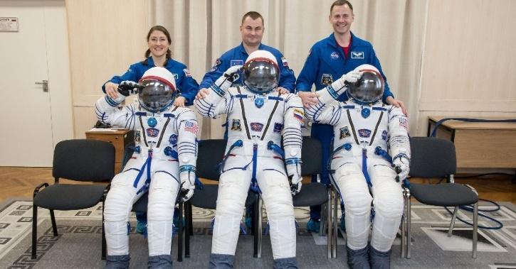 Russian spacesuit
