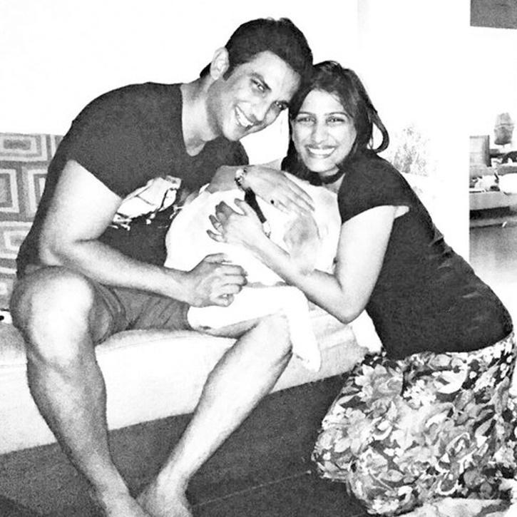 Sushant Singh Rajput with sister Priyanka Singh / Instagram