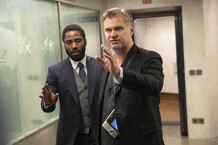Christopher Nolan / Tenet Trailer