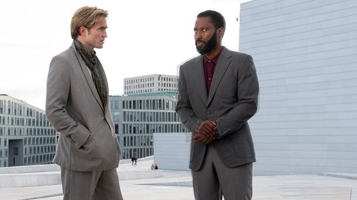 Robert Pattinson and David John Washington / Tenet Trailer