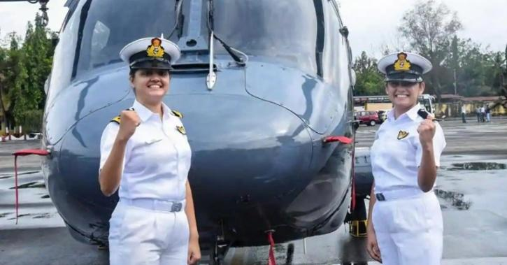 woman officers indian navy