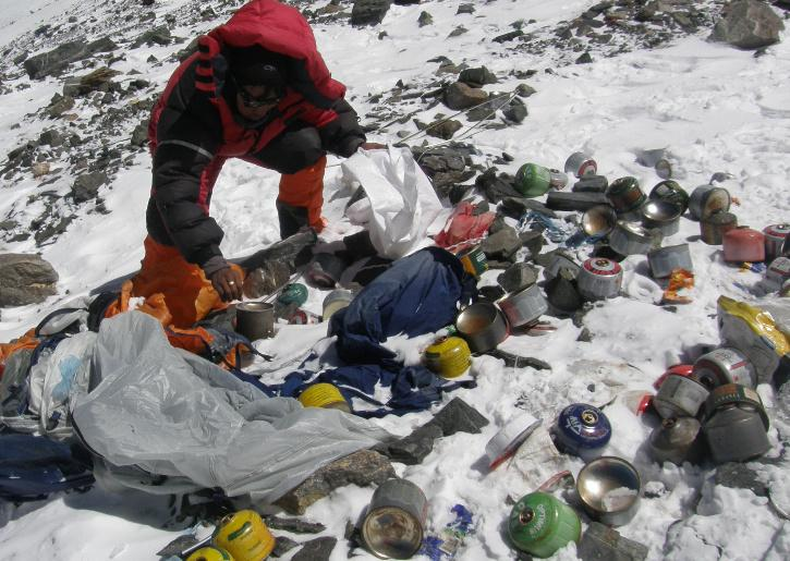 Everest clean up