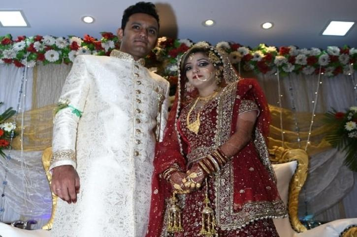 Mohammad Shareeq and his wife Oniba Kauser Shakeel Ahmed