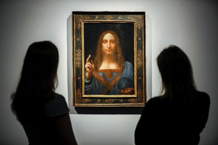 This piece by Leonardo da Vinci painted in the 1500's has often come under the radar for its authenticity.
