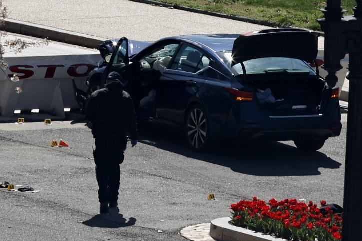 Car Attack On US Capitol