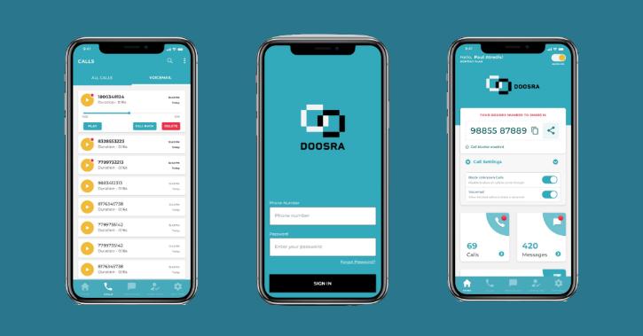 Doosra alternate 10-digit SIM-free mobile number