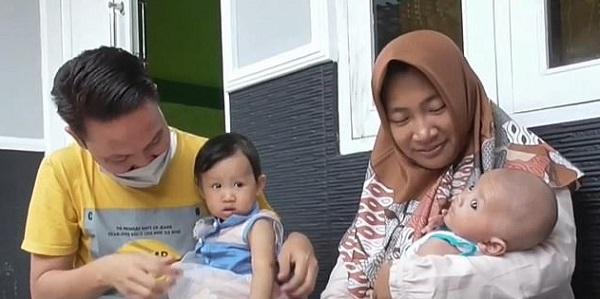 The man said that he paid tribute to his former workplace by naming his son 'Dinas Komunikasi Informatika Statistik.'