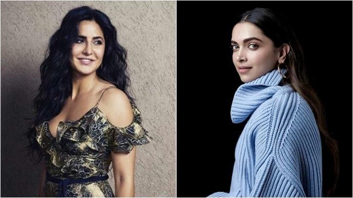 Deepika Padukone and Katrina Kaif / Indiatimes