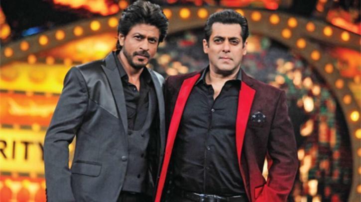 Shah Rukh Khan and Salman Khan / Twitter