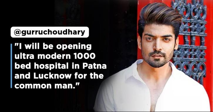 After Arranging Oxygen & Plasma For COVID Patients, Gurmeet Choudhary To Open Two New Hospitals