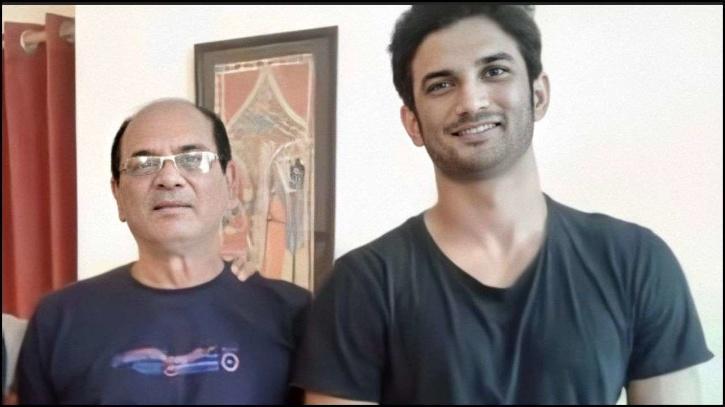 Sushant Singh Rajput with KK Singh / TOI
