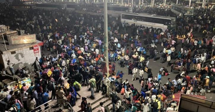 migrant workers delhi isbt lockdown