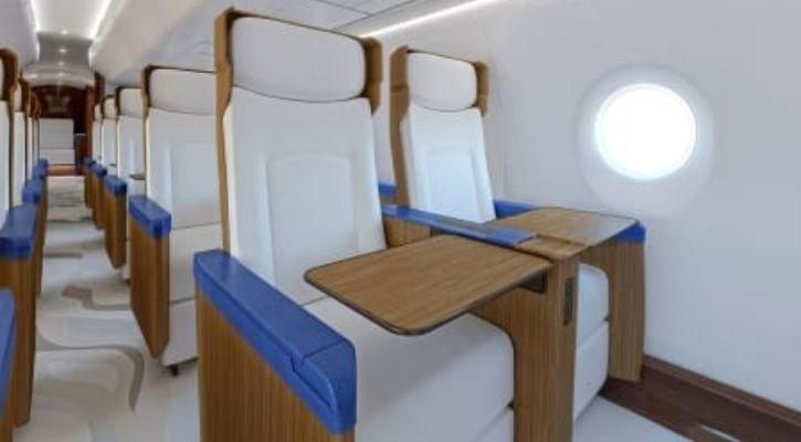 New Air Force One Seats