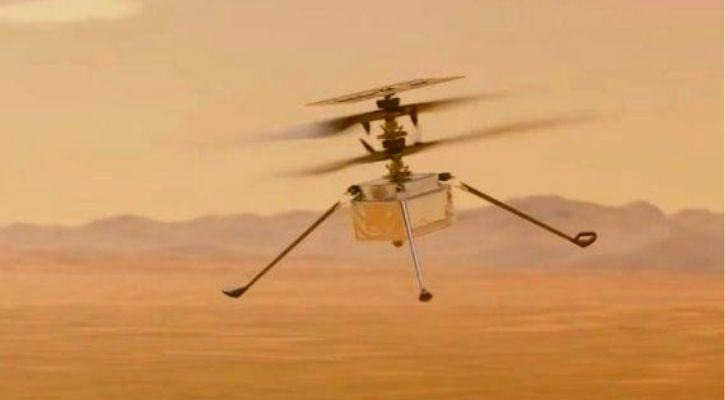 ingenuity helicopter photos