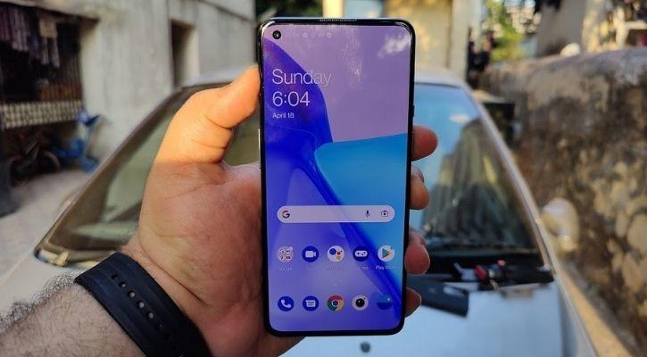 oneplus 9 front screen