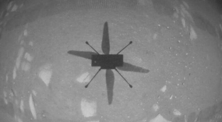 NASA ingenuity helicopter video
