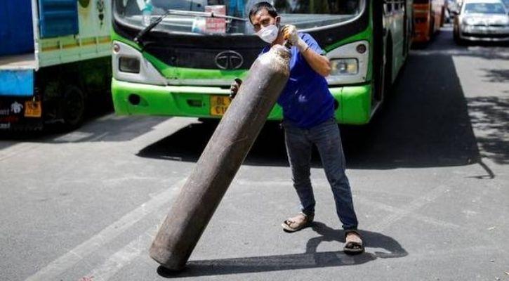 oxygen cylinder india