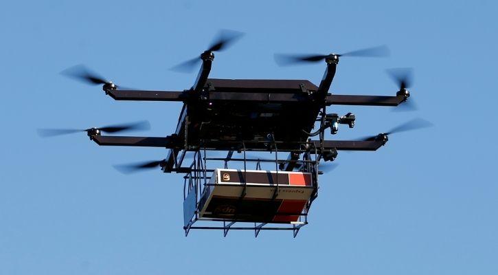 icmr vaccine drone delivery