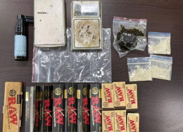 Drugs recovered from Gaurav Dixit
