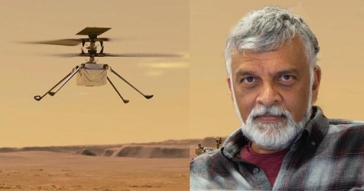 Bob Balaram NASA Mars Ingenuity Helicopter