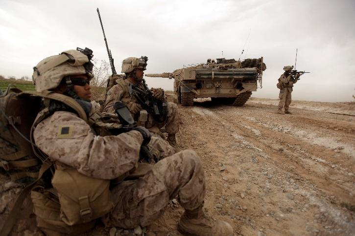 American troops from Afghanistan