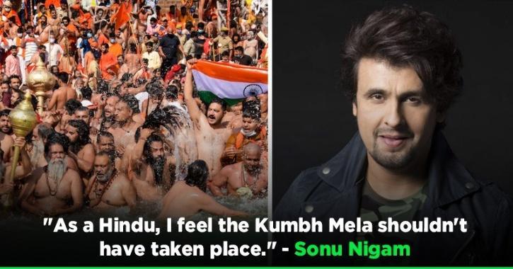 Being A Hindu, Sonu Nigam Feels Kumbh Mela Shouldn