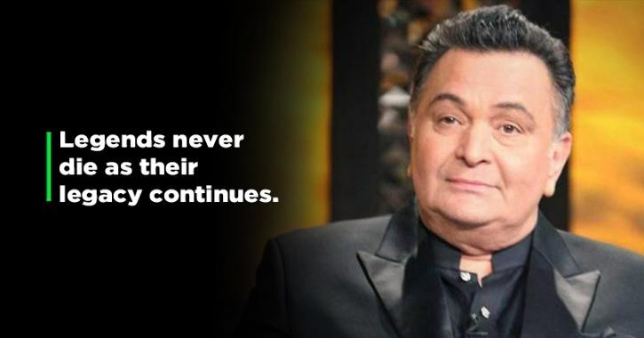 Fans & Celebs Remember Rishi Kapoor On His First Death Anniversary Calls Him The Forever Legend