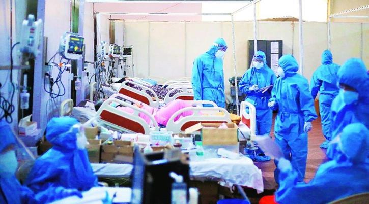 make shift hospital