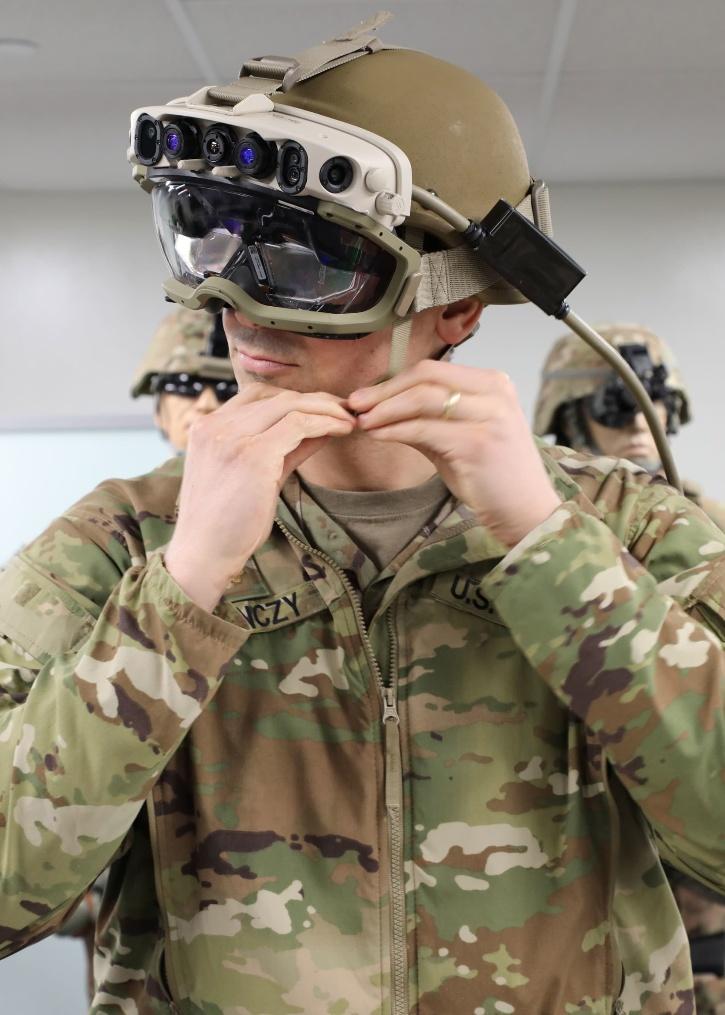 Microsoft IVAS AR headset for US Army