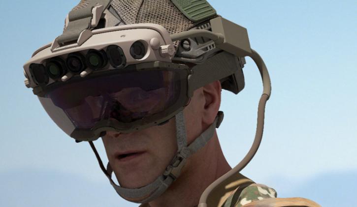 Microsoft IVAS AR headset