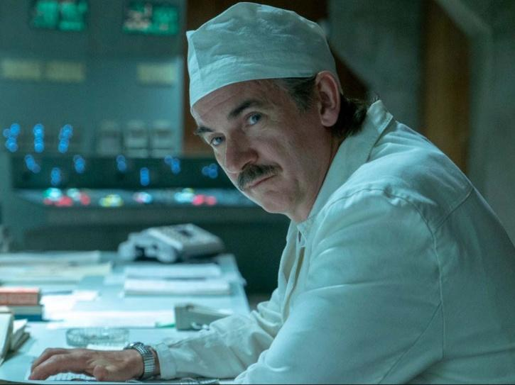 Paul Ritter in Chernobyl.