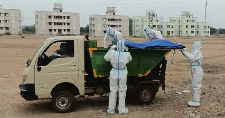 Chhattisgarh garbage van