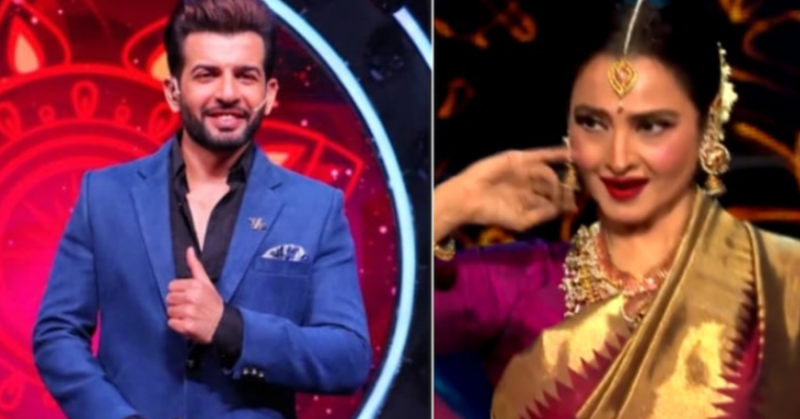 Rekha interacts with Jay Bhanushali about being in love with a married man on Indian Indol 12.