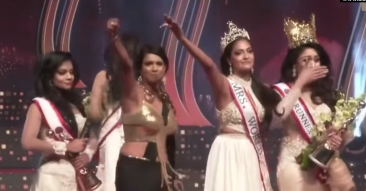 Mrs Sri Lanka 2019 Snatches Crown From The 2021 Winner Over