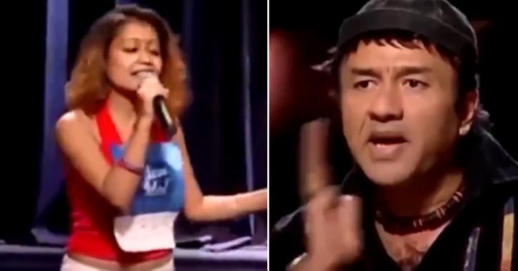 16 Years Ago, Neha Kakkar Auditioned For Indial Idol And Anu Malik Slapped Himself As She Sang