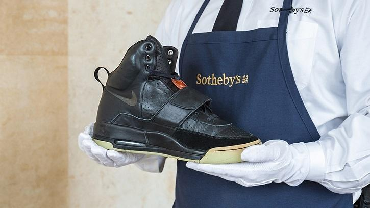 The sneakers, which are being sold by shoe collector Ryan Chang, will be on display in Hong Kong from April 16.